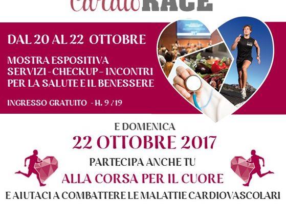 Cardio Race 22 ottobre 2017