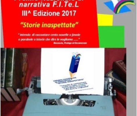 """I RACCONTI ALLA III^EDIZIONE DEL PREMIO NARRATIVA FITEL """"Storie inaspettate"""""""