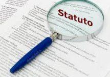 Non aspettare controlla se il tuo Statuto è in regola!!
