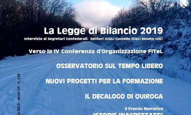 TEMPO LIBERO: Rivista della Fitel – Gennaio/Febbraio 2019