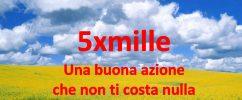 5XMILLE IL 7 MAGGIO SCADE LA RICHIESTA