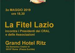 La Fitel Lazio incontra i dirigenti dei Cral e delle Associazioni
