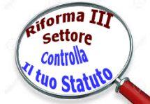 Adeguamenti statutari delle Associazioni
