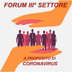 Coronavirus, Forum Terzo Settore